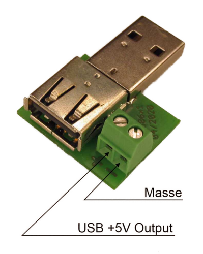 FS-0024-A USB-Adapter + Power
